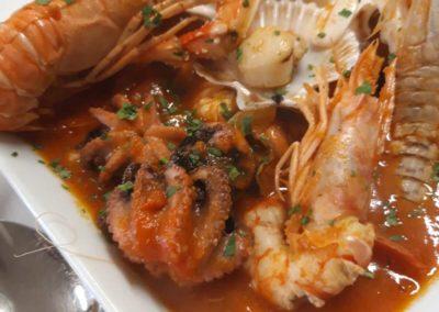 piatto pesce ristorante burchiello mira2
